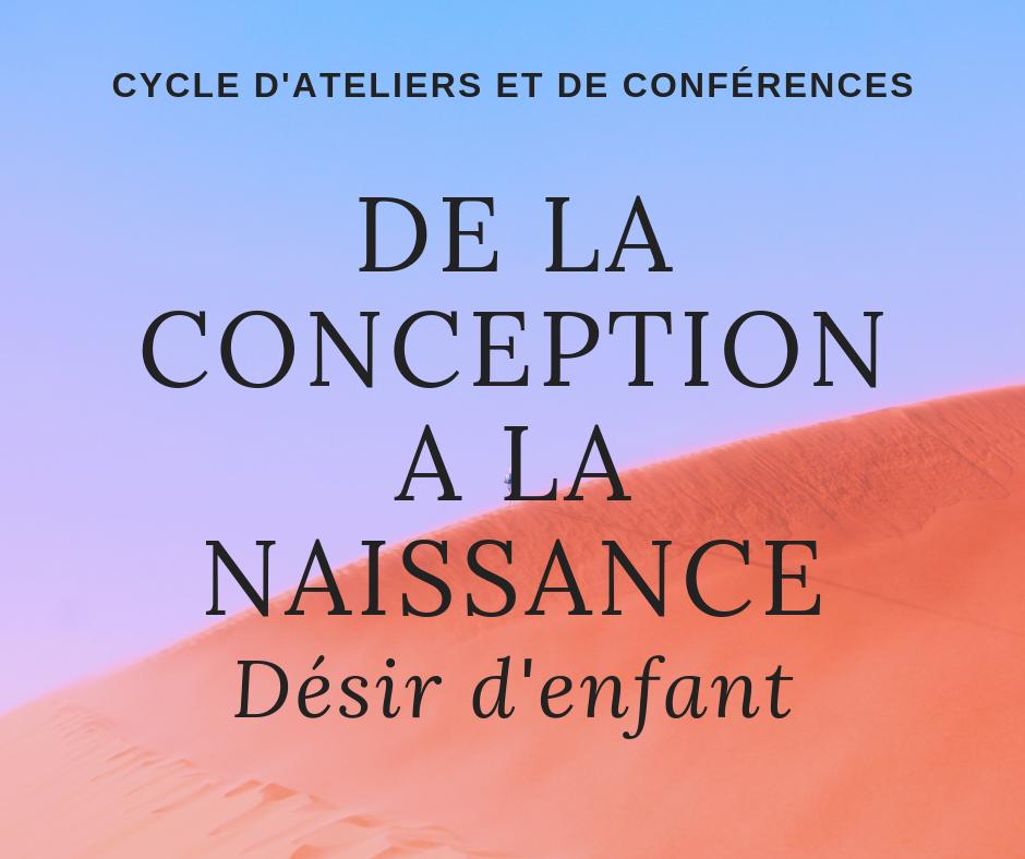 """Cycle d'Atelier """"Désir d'enfant"""","""
